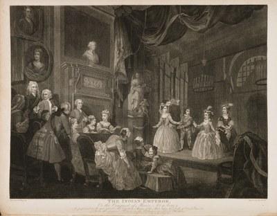 William Hogarth - The Indian Emperor