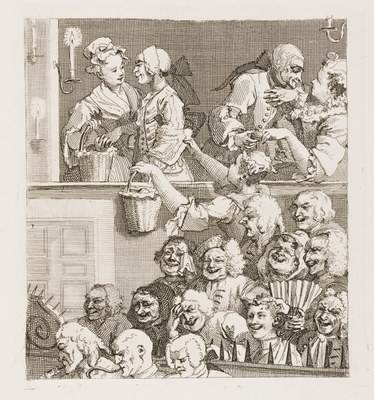 William Hogarth - The Laughing Audience