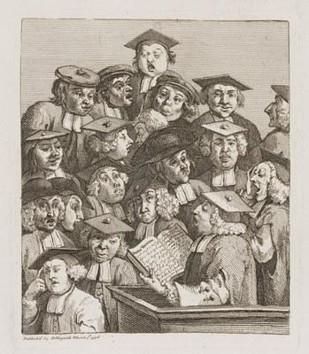 William Hogarth - The Lecture
