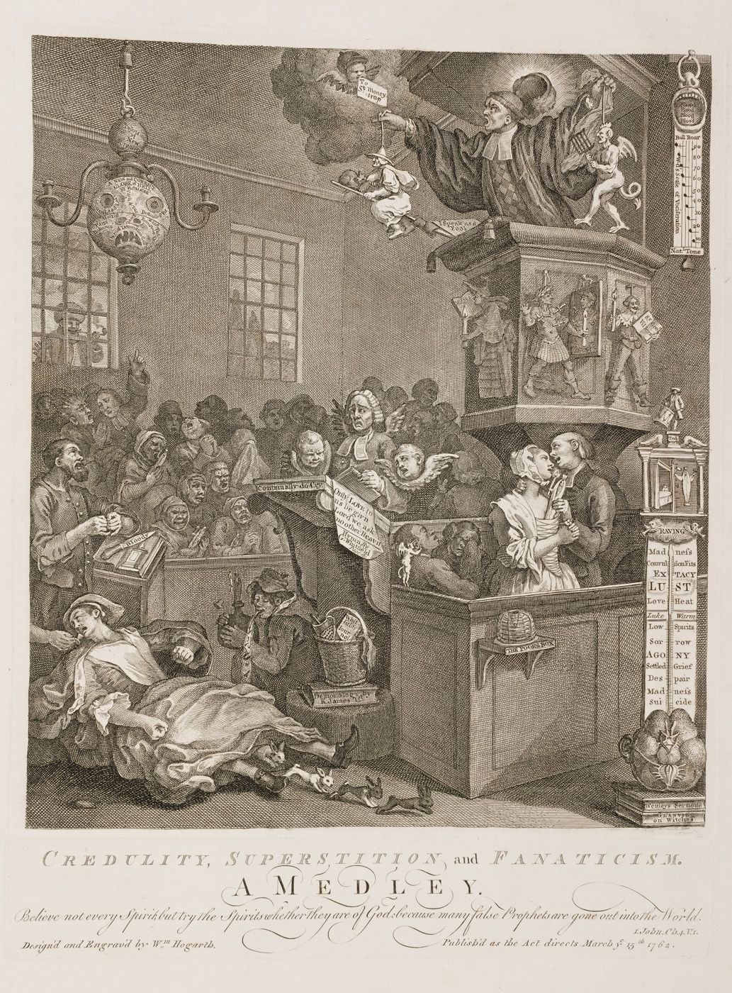 William Hogarth - The Medley