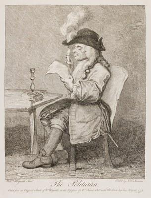 William Hogarth - The Politician