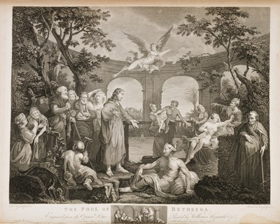 William Hogarth - The Pool of Bethesda