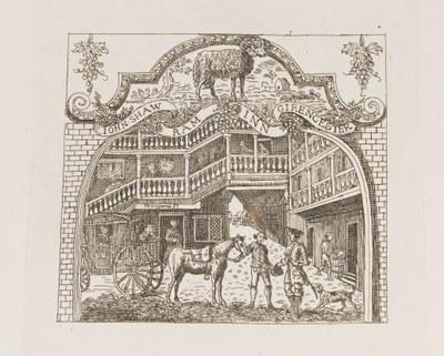William Hogarth - The Ram Inn at Cirencester