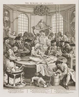 William Hogarth - The Reward of Cruelty