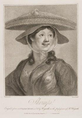 William Hogarth - The Shrimp Girl