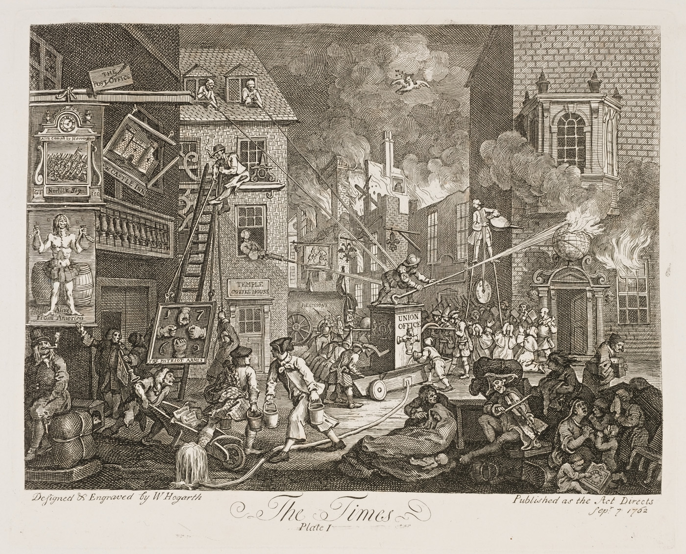 William Hogarth - The Times I