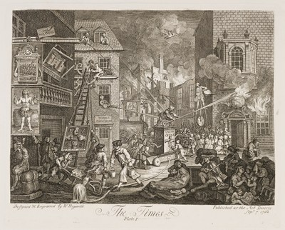 William Hogarth - The Times I