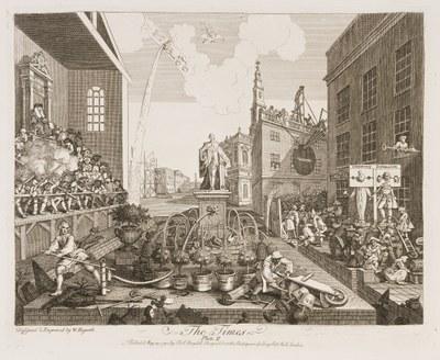 William Hogarth - The Times II