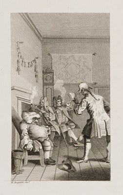 William Hogarth - Tristram Shandy I