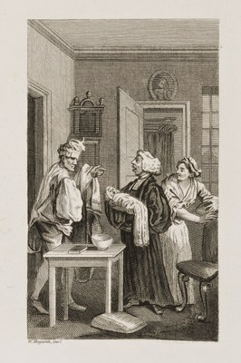 William Hogarth - Tristram Shandy II
