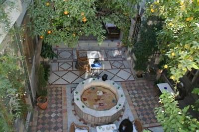 Une cour damascène