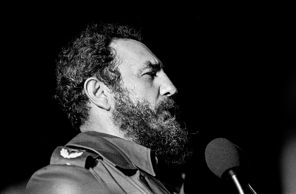 Fidel Castro por Marcelo Montecino. La Habana, 1978. Flickr, Licence Creative Commons