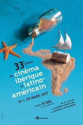 Affiche 33è Reflets du cinéma ibérique et latino-américain