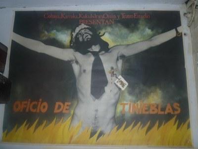 Cartel Oficio de Tinieblas 1984