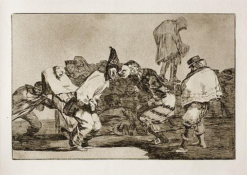 disparate de carnaval Goya