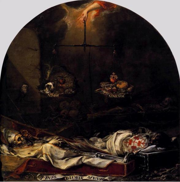 Finis gloriae mundi (1672), Hermandad de la Santa Caridad, Sevilla.