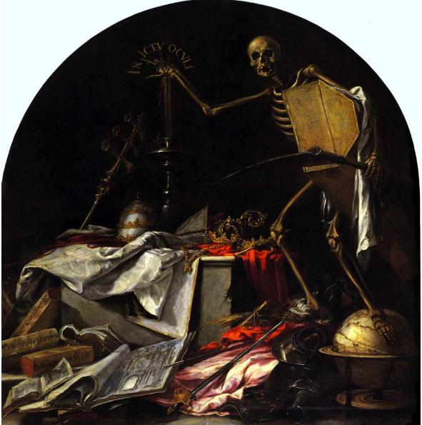 In inctu oculi (1672), Hermandad de la Santa Caridad, Sevilla.