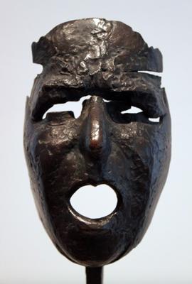 Masque de Montserrat criant, Julio González