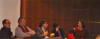 « Ecrire au-delà des frontières », avec Jorge Volpi, Alberto Ruy Sánchez, Álvaro Enrigue, Ximena Escalante, conférence animée par Florence Olivier