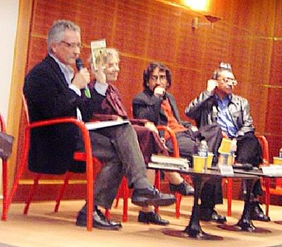 « La chronique et la ville tentaculaire », conférence animée par Michel Abescat,  avec Elena Poniatowska, Fabrizio Mejia et Sergio González Rodríguez.
