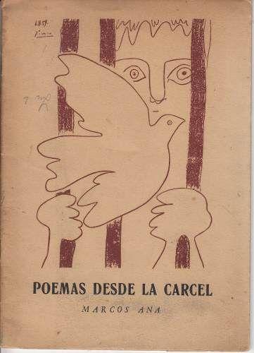 Couverture du recueil de poèmes de Marcos Ana Poemas desde la cárcel