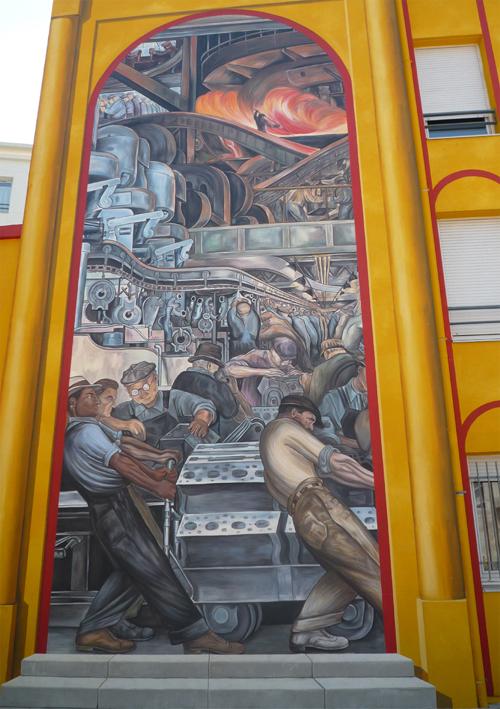 L Espace Diego Rivera De Lyon Espagnol
