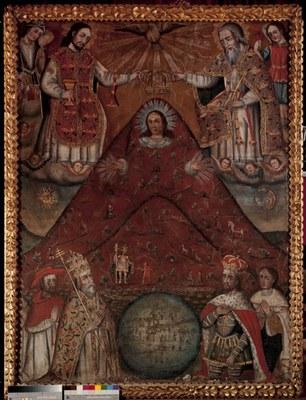 Virgen del cerro potosí