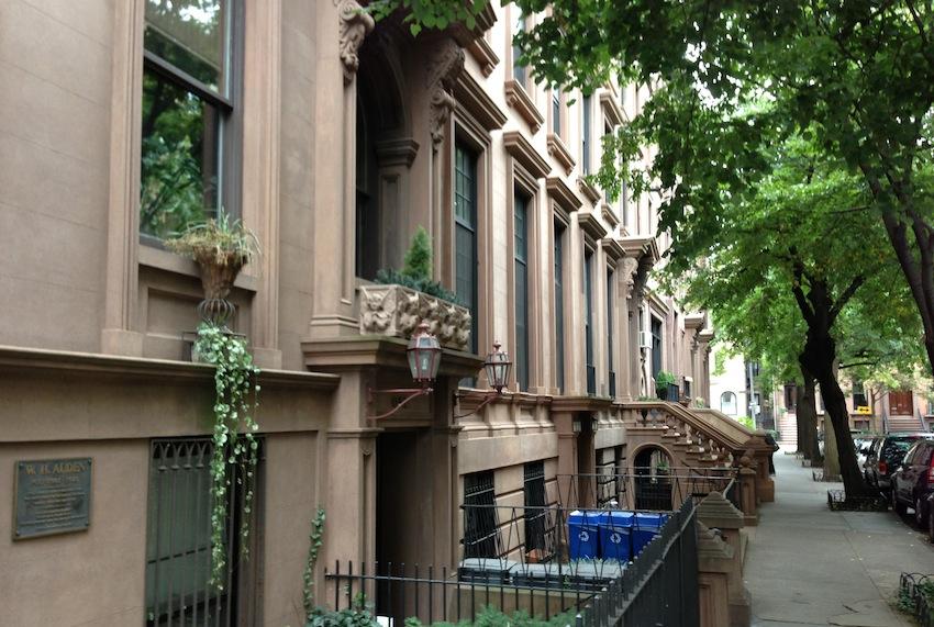 Brooklyn brown stone houses