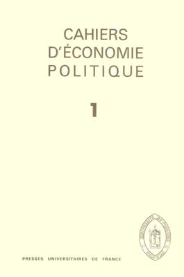 Cahiers Economie Politique_CEP.png