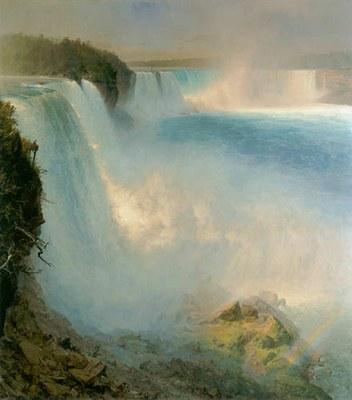 Niagara Falls, from the American Side,1867, Frederic Edwin Church (American,1826-1900)