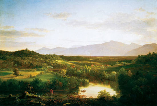 River in the Catskills, 1843, Thomas Cole (American, b. England, 1801-1848)
