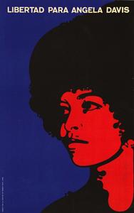 Félix Beltrán, Angela Davis poster, 1971