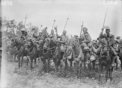 Indian cavalry of the 20th Deccan Horse