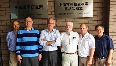 key laboratory Shanghai, Eero Castren, Mart Saarma, Hubert Hondermarck, Ralph Bradshaw, Brian Rudkin, Liu Mingyao