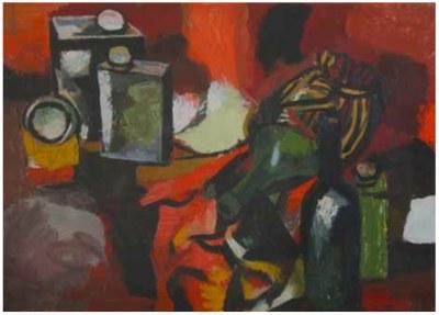 Renato Guttuso, Nature morte, 1958