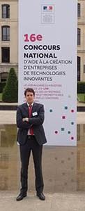 Julien Alberici MATHYM ENS Lyon prix entreprise innovante 2014