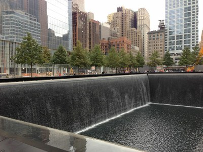 9/11 memorial copiright Clifford Armion