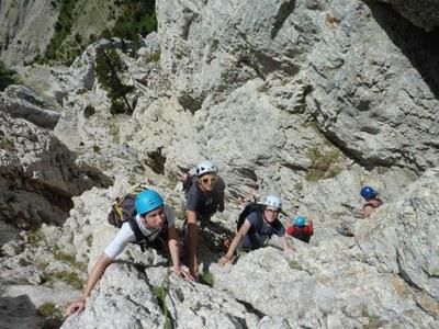 Les étudiants du CHEL[S] au Mont Aiguille