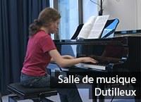 Salle de musique Dutilleux