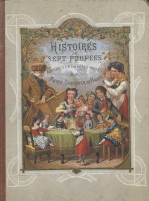 couverture livre enfant 7 poupées