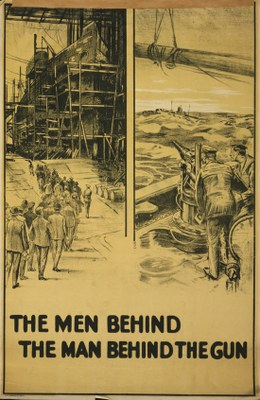 the men behind the man behind the gun