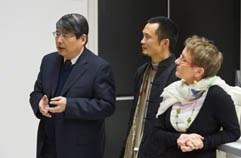 Vice-consul Chine, JI Dahai et IAO année du Dragon ENS Lyon