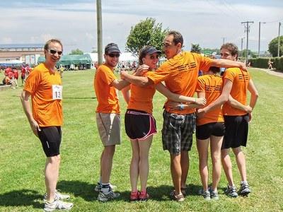 Une équipe de l'ENS de Lyon au marathon relais de Viriat