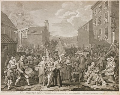 William Hogarth - The March to Finchley