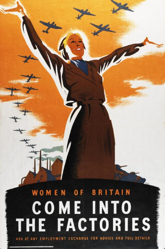 women of britain poster
