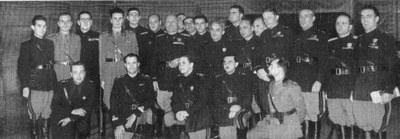 Scuola di Mistica Fascista incontro a Roma con Mussolini