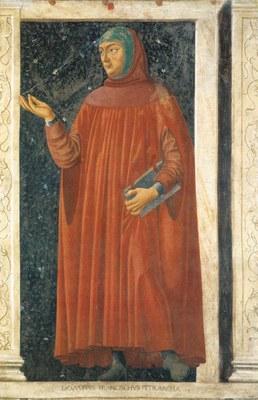 Pétrarque Petrarca Andrea Del Castagno