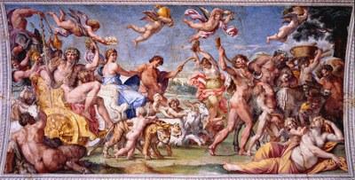 Carracci - Le triomphe de Bacchus et Ariane