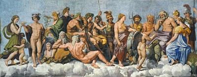 Concile des Dieux Raphaël