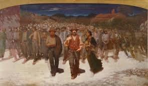 La Fiumana, 1895-1896, de Pelizza Da Volpedo, (Pinacoteca di Brera, Milano)